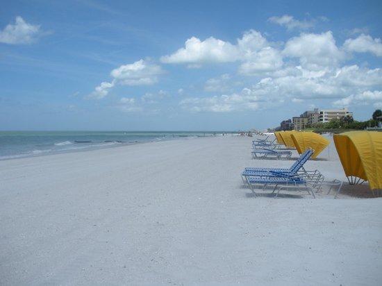 Shoreline Island Resort: private beach