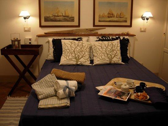 Casa D'Artista: Camera da letto di Casa del pescatore