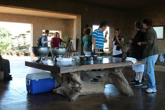 Sabi Sabi Bush Lodge: Refreshments on arrival