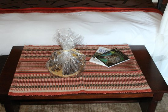 Sabi Sabi Bush Lodge: Welcome Gift