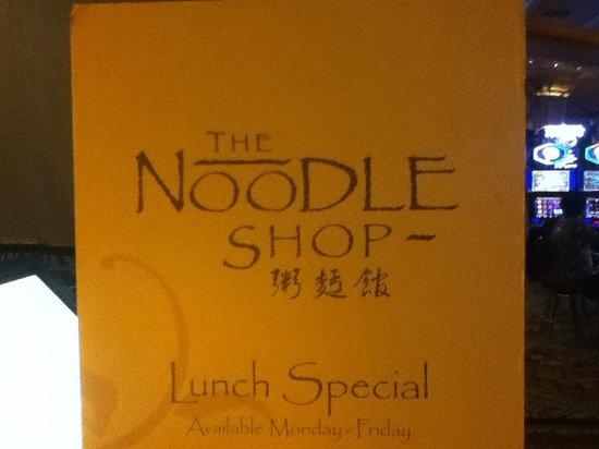 Noodle Shop: Shop title