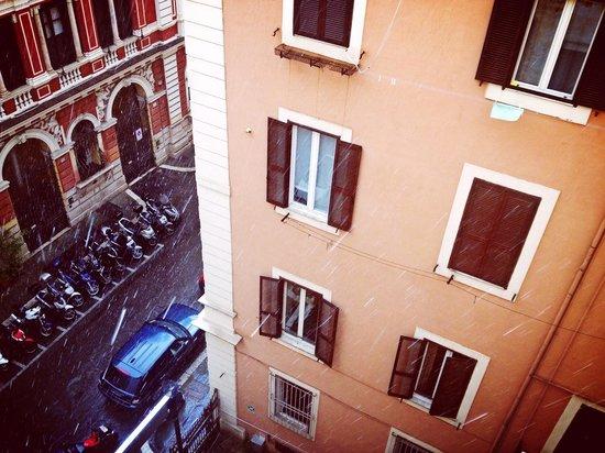 Alessandro Palace Hostel: Vista
