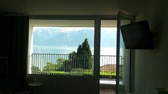 Hotel Lavaux: la vue