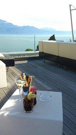 Hotel Lavaux: terrasse panoramique