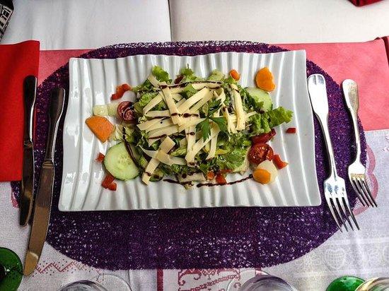hotel restaurant Au cerf : Salad Starter