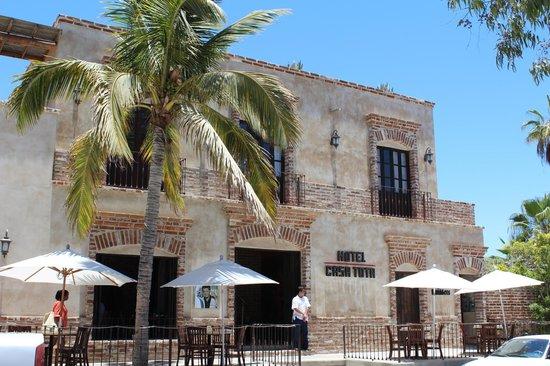 Hotel Casa Tota: Front