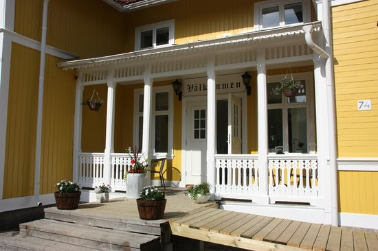 Hedenstugan Bed & Breakfast Hotel: Entrence