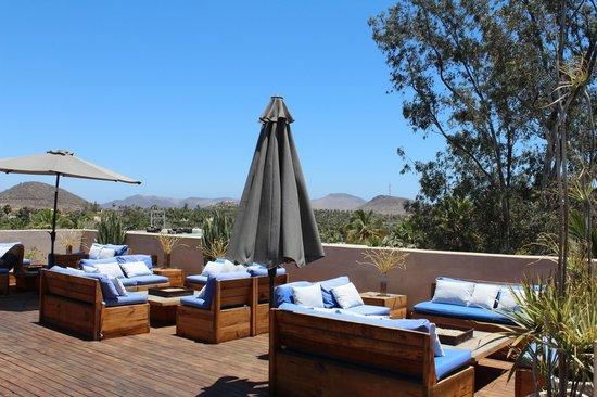 Hotel Casa Tota: Rooftop terrace