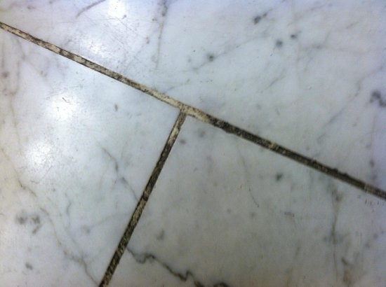 Crowne Plaza Downtown - Northstar: Moldy Grout