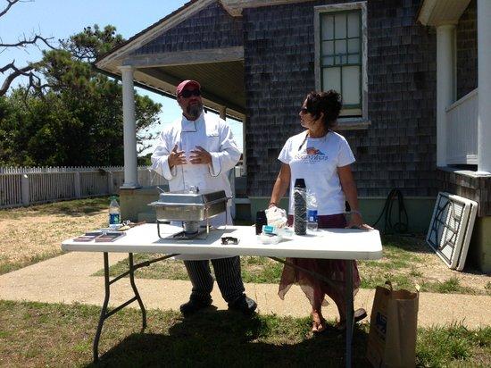 Chicamacomico Life-Saving Station Historic Site & Museum: Local chef's demo