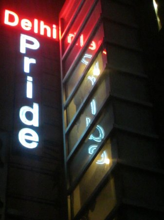 Hotel Delhi Pride: Outside
