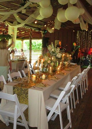 Glen-Ella Springs Inn: Wedding Reception