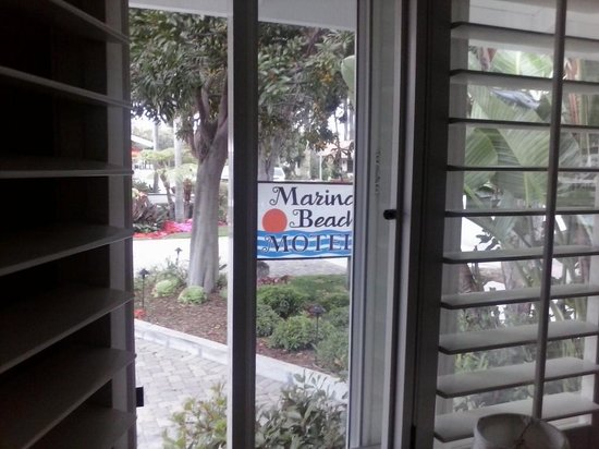 Marina Beach Motel: view from #1