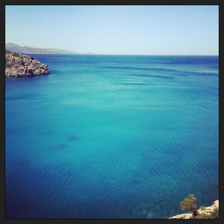 Daios Cove Luxury Resort & Villas: View from room 224