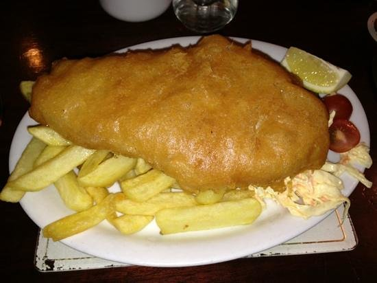 The White Stag: Haddock enjoyed by RogerfromTown