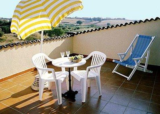 Villa Lavinia B&B: Terrazza camera al secondo piano