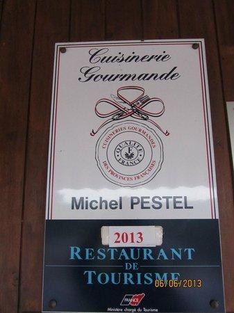 Le Belvedere: Chef Pestel ... 5 stars!