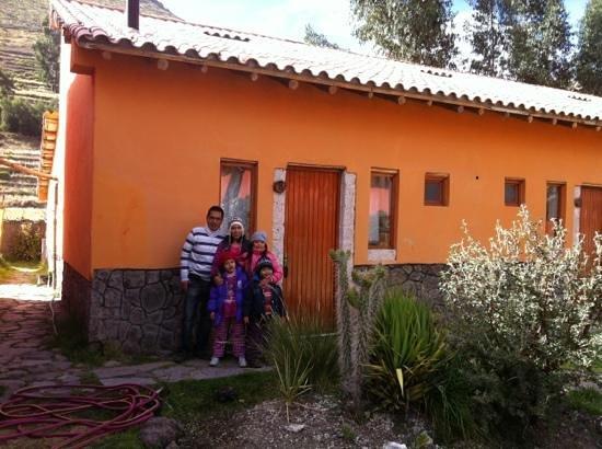 Hosteria & Spa Tradicion Colca: En la puerta de la habitación