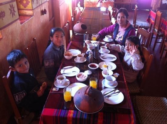 Hosteria & Spa Tradicion Colca: Suculento Desayuno