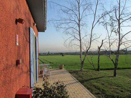 Baix, Ranska: Vue depuis une chambre