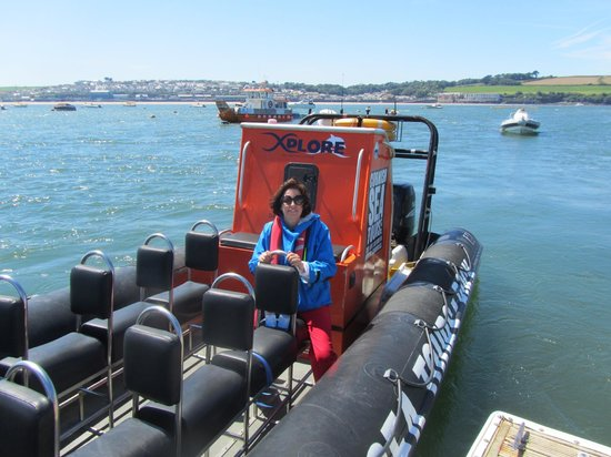 Cornish Sea Tours: Me at the End of the Trip