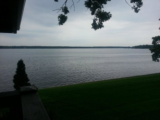 Lake Lawn Resort: View from Side/Living room balcony