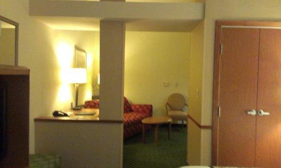 Fairfield Inn & Suites Clermont: Living Area