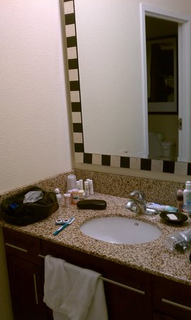Residence Inn Toronto Vaughan: Bathroom one
