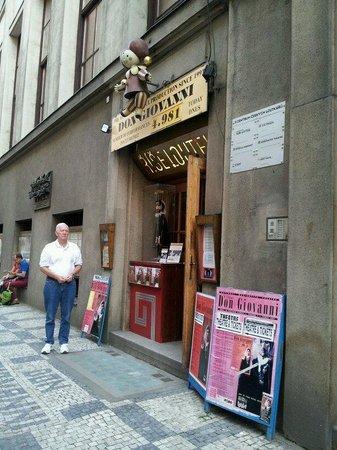 National Marionette Theatre: Unaccuming entrance
