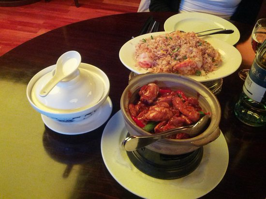 San San China Restaurant : riso molto buono