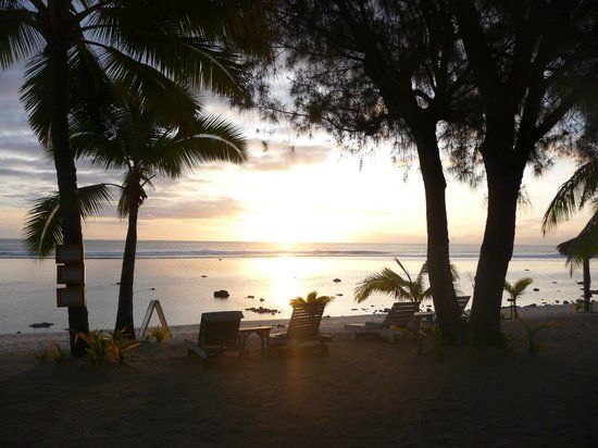 Aitutaki Lagoon Resort & Spa: Sunset