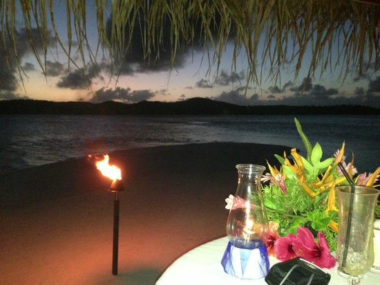 Aitutaki Lagoon Resort & Spa: Private dining