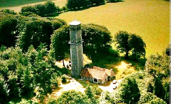 Cranmore Tower: Aeriel view of the tower
