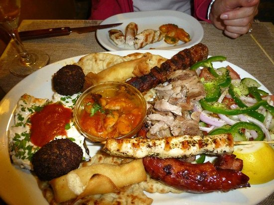 Gourgouris Grill: Meze for two