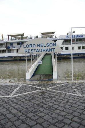 Fortuna Boat Hotel & Restaurant: ancora il livello era basso