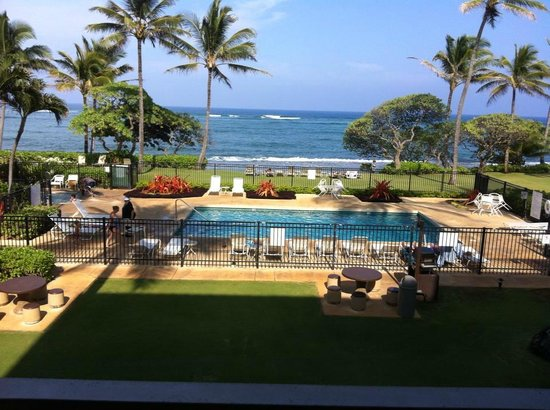 Kapaa Shores: View from our room