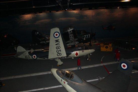 Fleet Air Arm Museum: carrier deck  1