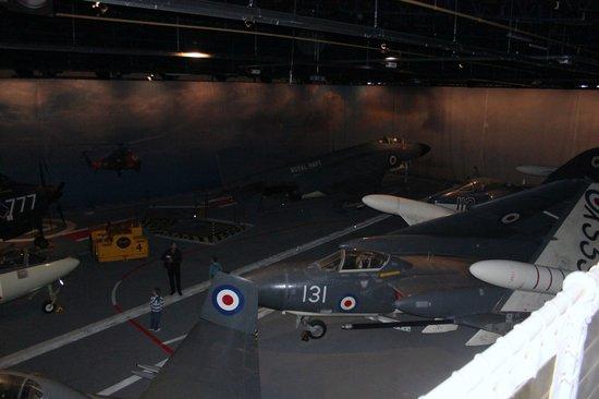 Fleet Air Arm Museum: carrier deck