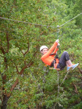 Rogue Valley ZipLine Adventure: Zip away!