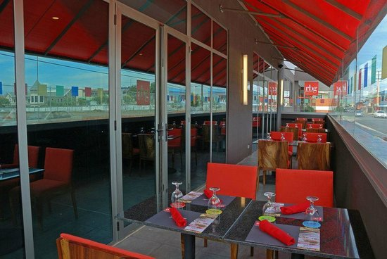 RBG Bar & Grill: La terraza