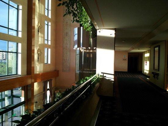 Hotel La Vega: Vista interior