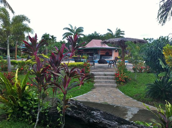 Amoa Resort: view from room