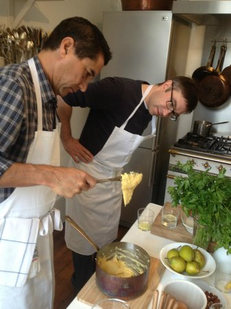 The Cook's Atelier : checking consistancy