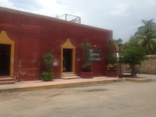 Taberna de los Frailes : front of restaurant