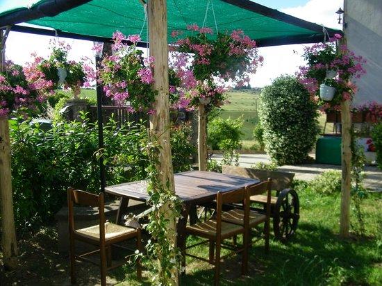 Casa Losea: Pergolato in giardino