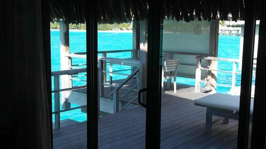 The St. Regis Bora Bora Resort: Bungalow Deck