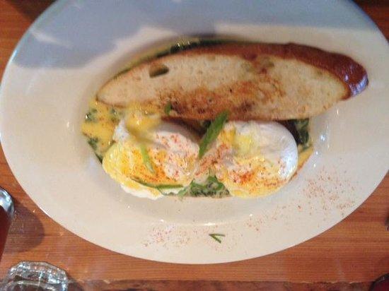 Parish Cafe : Eggs Sardu
