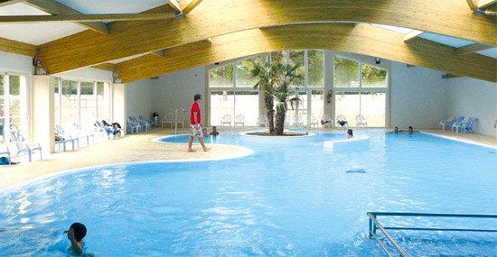 Les Sables de Cordouan : piscine couverte