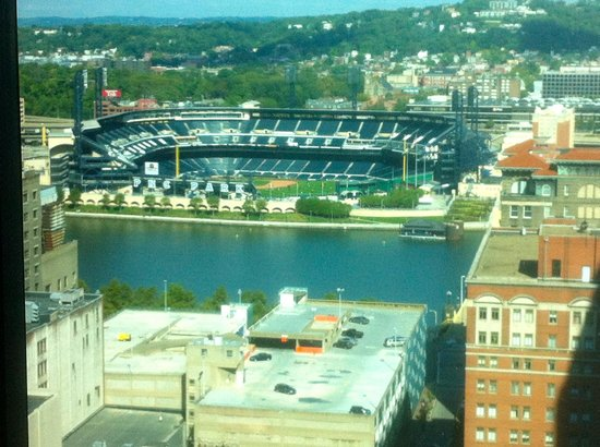 Fairmont Pittsburgh: View North