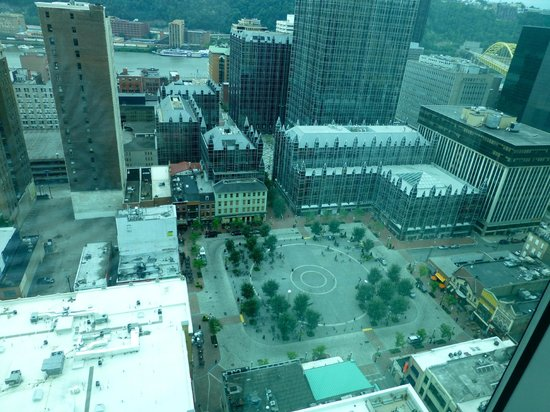 Fairmont Pittsburgh: View day South